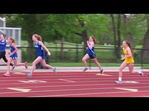 St Edward 7th & 8th grade girls City Champs 2017 4x100 relay