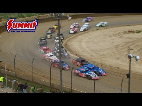 Summit Racing Equipment Modified Nationals Plymouth Speedway June 29, 2017 | HIGHLIGHTS