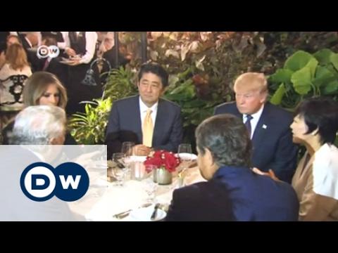 Donald Trump meets Shinzo Abe in Washington | DW News