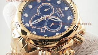Invicta Venom Reserve Watch 13891 Swiss Made Rose Gold 53.7MM Men