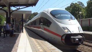 ICE 4652 komt door Station Driebergen-Zeist