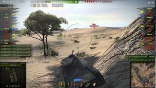 FCM 50t gameplay - Ace Tanker - World of Tanks - 9.9 XVM mod pack
