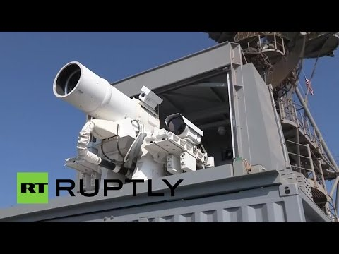 US Navy's laser cannon blows up boats, drones in Persian Gulf