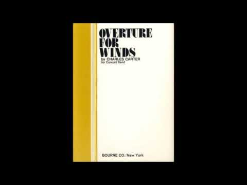Overture for Winds - Charles Carter