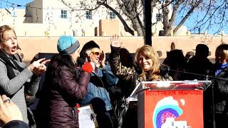 WOMEN'S MARCH SANTA FE  2019 – SANTA FE PLAZA – Renee Villarreal