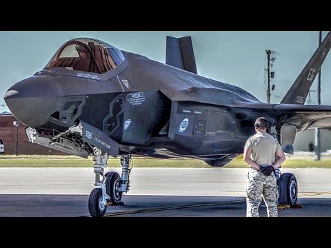 F-35 Fighter Jets Operations at McEntire Joint National Guard Base