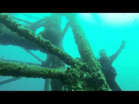 Mike & Wayne HMAS Adelaide Dive