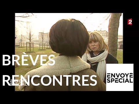 """Envoyé spécial. """"Brèves rencontres"""" par Mireille Darc - 23 sept. 1993 (France 2)"""