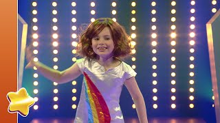 Kijk Léonie danst op Alle kleuren filmpje