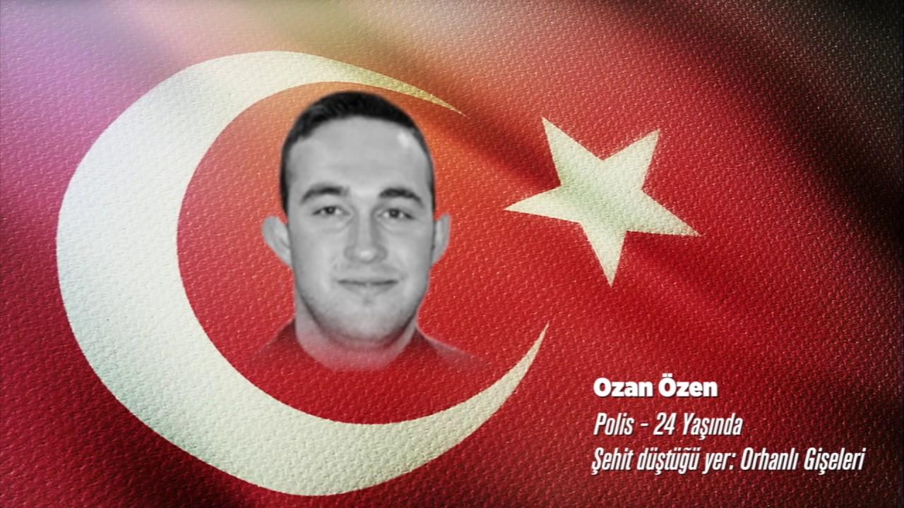 15 Temmuz Şehidi Ozan Özen
