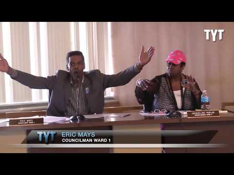 Flint City Council Descends Into Chaos