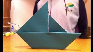 Origami :: Sail Boat (Tutorial)