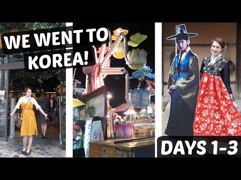 I Went To KOREA!   |    My first 3 days