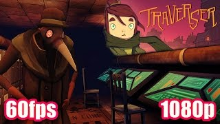 Traverser Gameplay - Interactive Puzzle Steampunk  Platformer & Boss Battles PC Game 1080p 60fps