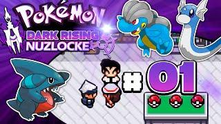 Pokémon Dark Rising Nuzlocke #01 - ¡EMPEZAMOS MUY DURO!