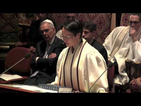The Hope: Israel - Rabbi Angela Buchdahl, Yom Kippur 5775