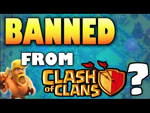 clash of clans banned from clash of clans how did this. Black Bedroom Furniture Sets. Home Design Ideas