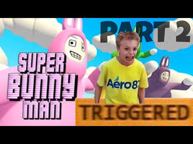BUNNY MEN ON ICE! Let's Play Super Bunny Man ~ Part 2
