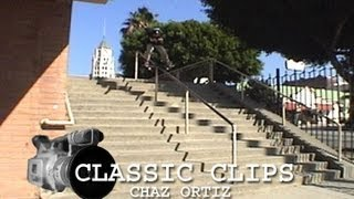 Young Chaz Ortiz Skateboarding Classic Clips #64