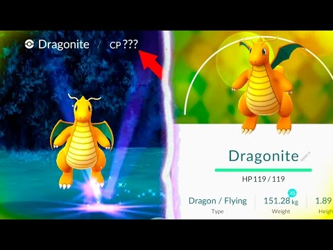 HIGHEST CP POKEMON YET IN POKEMON GO! Wild Dragonite! How Much CP Will it Be?