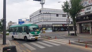 [대양운수] 동두천시 시내버스 51번 (동두천터미널.롯…