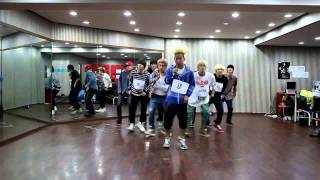 mirrored mama beat lc9 엘씨나인 dance practice