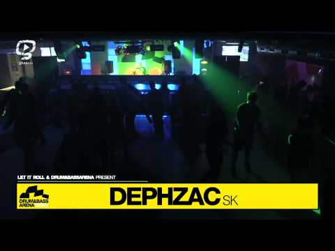 Dephzac - DRUM&BASSARENA NIGHT Slovakia @ SPY club - Prtizanske 18. April 2014