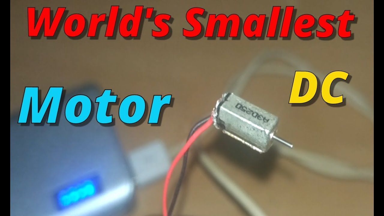 Wireless Baby Monitor Circuit Project Nonstopfree Electronic Wire Usb Power Booster Diagram Circuits World S Smallest Dc Motor Youtube Rh Com