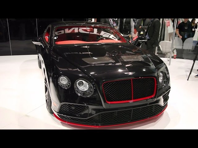 Bentley Continental Monster Collaboration Ces 2016 Video Audiophilepure