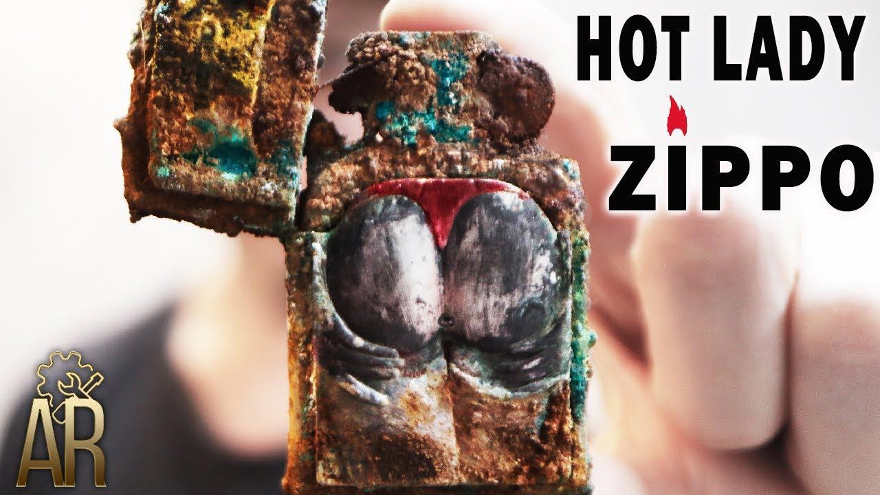 Zippo Lighter Restoration SEXY lady special edition