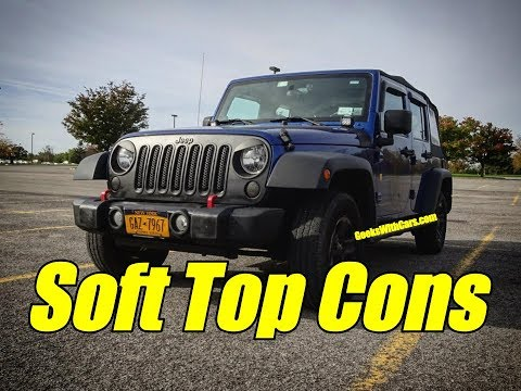 Jeep Wrangler Unlimited Soft Top Pros and Cons   Should you buy a Soft Top Jeep?