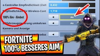 100% BESSERES visam no FORTNITE no PS4 Controller dicas e truques