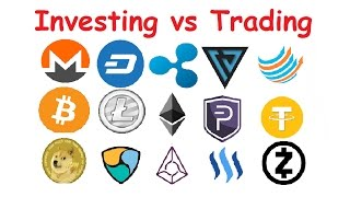 Cryptocurrency Focus Investing and Trading
