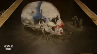 3D Chalk Art - Scary Stories To Tell In The Dark