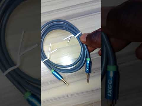 IXCC Auxilliary cable Now Available on EkoDeals.com Lagos Nigeria