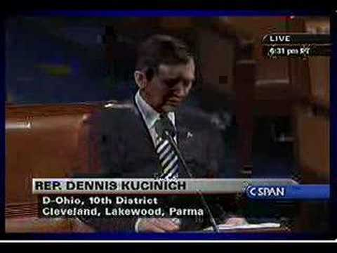Kucinich: Articles of Impeachment 16.