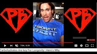 Mike O'hearn Says Carbohydrates, Not Duck Eggs, Are The Key To Longevity!