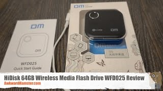 HiDisk 64GB Wireless Media Flash Drive WFD025 Review