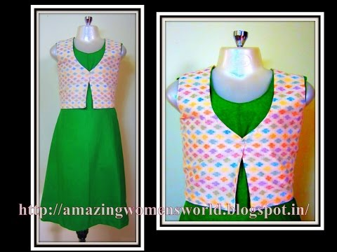 SIMPLE A LINE BABY DRESS WITH JACKET - EASY MAKING