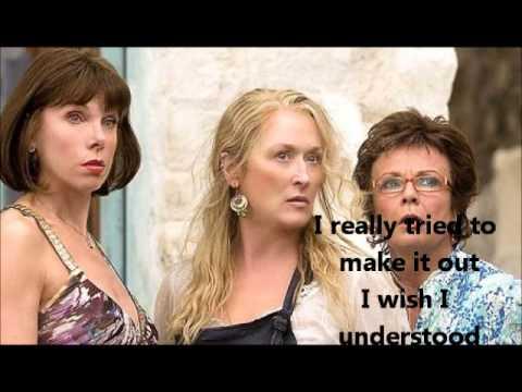 Meryl Streep S.O.S (Mamma Mia!) - Lyrics