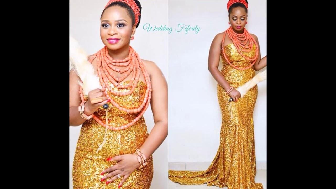 Igbo Bride Traditional Wedding Attire - YouTube