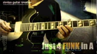 Demo & Jamtrack Gitar (Just 4 FUNK BLUES) By Sulung Aries & Wawan Darmawan