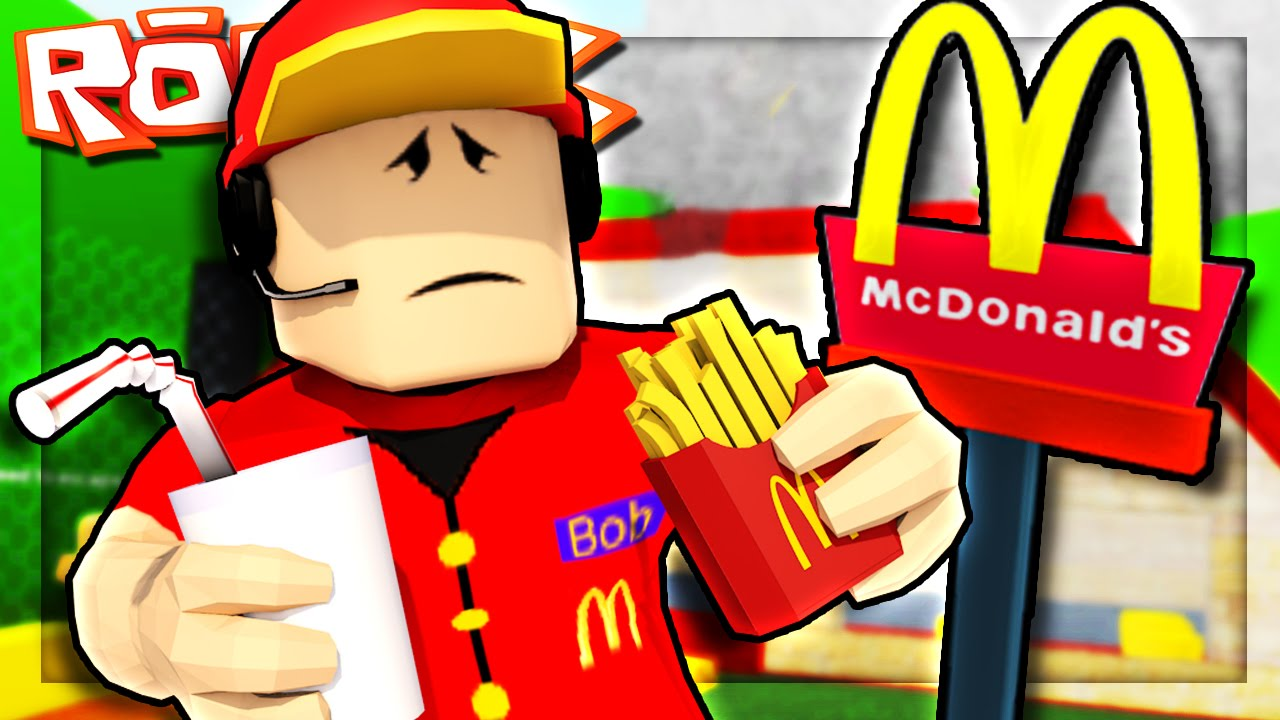 Roblox Adventures Working At Mcdonalds Escape