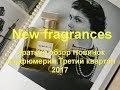 Новинки парфюмерии в Иль Де Ботэ третий квартал 2017