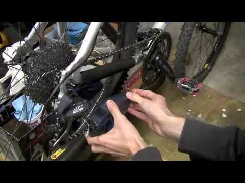 How to clean MTB chain