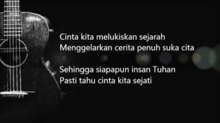 Download Bunga Citra Lestari - Cinta Sejati ( OST. Habibie Ainun)   (Official Lyric Video)