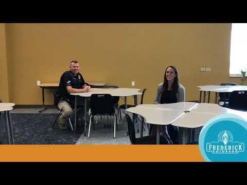 Meet School Resource Officer Andy Fairbanks - Frederick Police Department 1