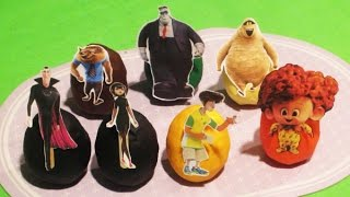 Hotel Transylvania 2 Play Doh Surprise Eggs Full Cast All Characters