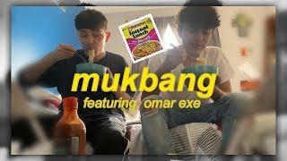 mukbang + Q&A wit ya boi brandon (featuring. omar exe)