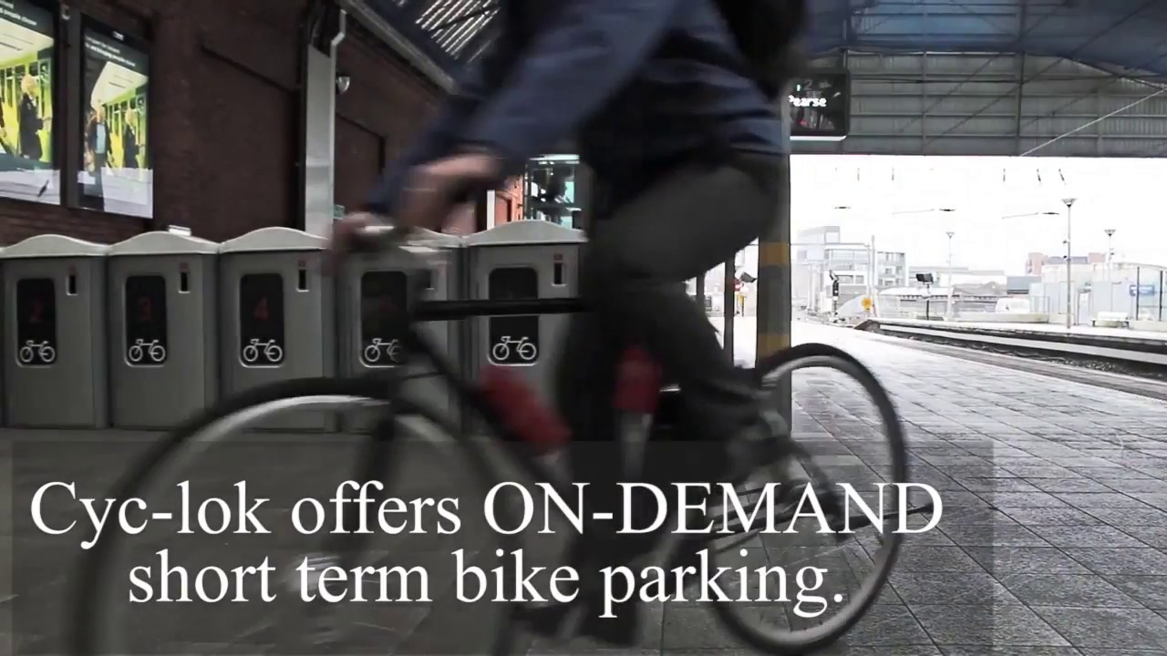 Cyc Lok Global Network Of Secure Bicycle Parking Facilities Youtube